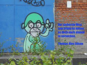 Zitat Thomas Alva Edison