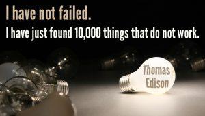Zitat Thomas Edison