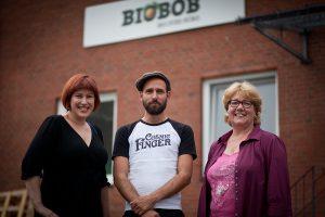 Silke, Jonas von Biobob und Nicole