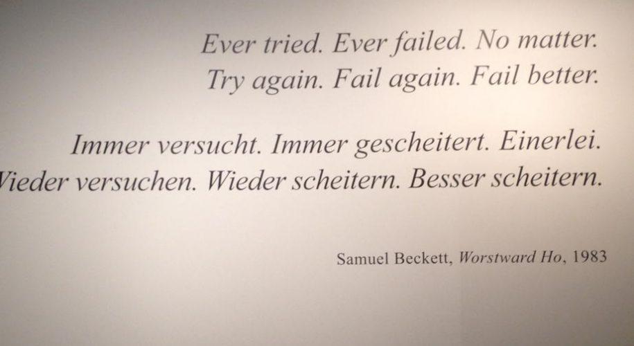 Zitat Samuel Beckett